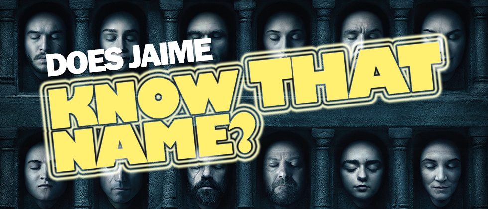 Does Jaime Know That Name? - Game of Thrones