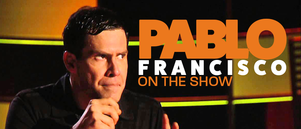 Pablo Francisco on MZNOW