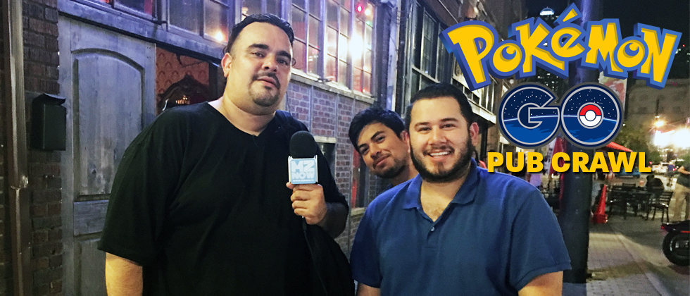 Pokemon Go Pub Crawl in Deep Ellum