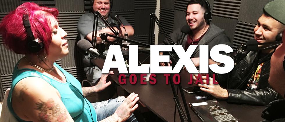Alexis, aka Lady G, goes to jail