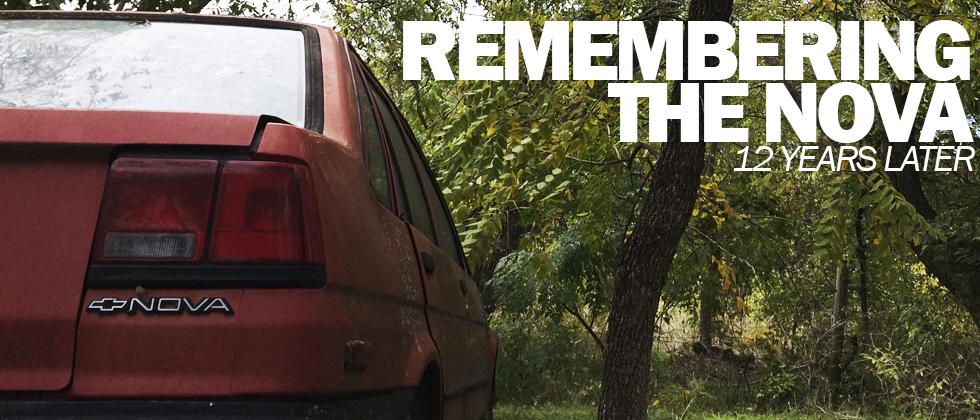 Remembering the 1987 Chevy Nova