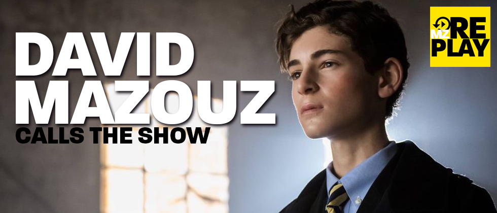 Gotham's David Mazouz on mzReplay