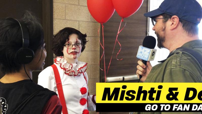 Mishti & Del Go to Fan Days