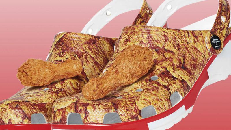 Michael KFC Crocs
