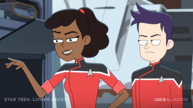 Star Trek: Lower Decks, starring Tawny Newsome
