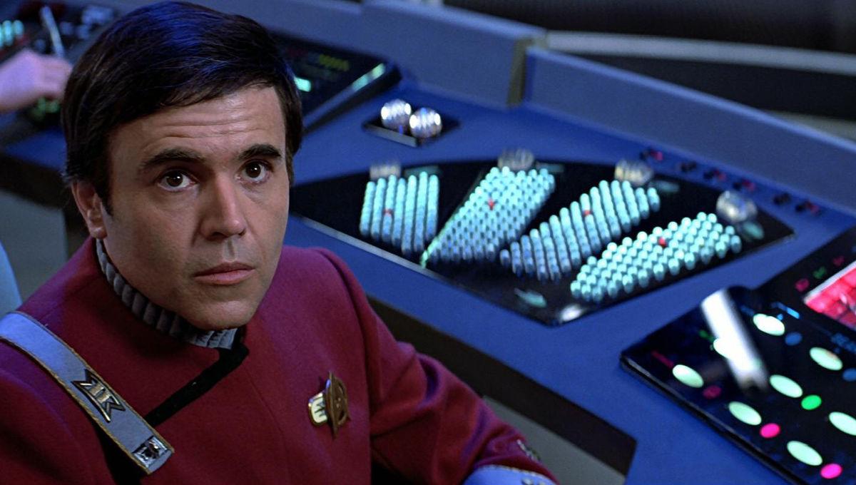 Walter Koenig as Chekov in Star Trek