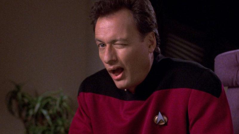 Q Returns to Star Trek