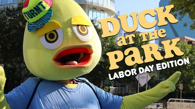 Douche Duck - Duck at the Park