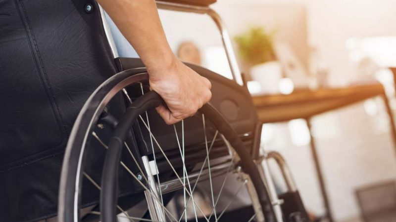 Michael's Wheelchair